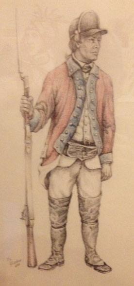 !8th Foot ca 1770
